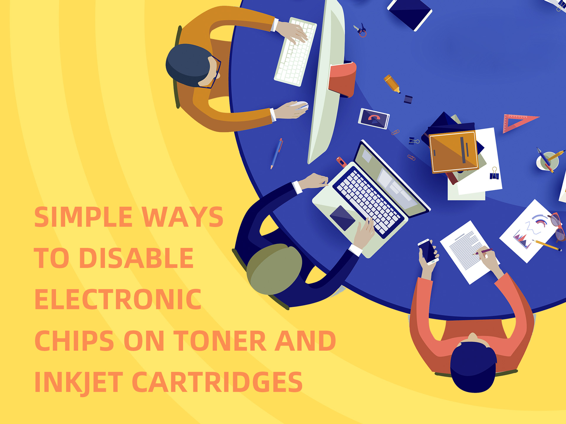Simple Ways to Disable Electronic Chips on Toner and Inkjet Cartridges