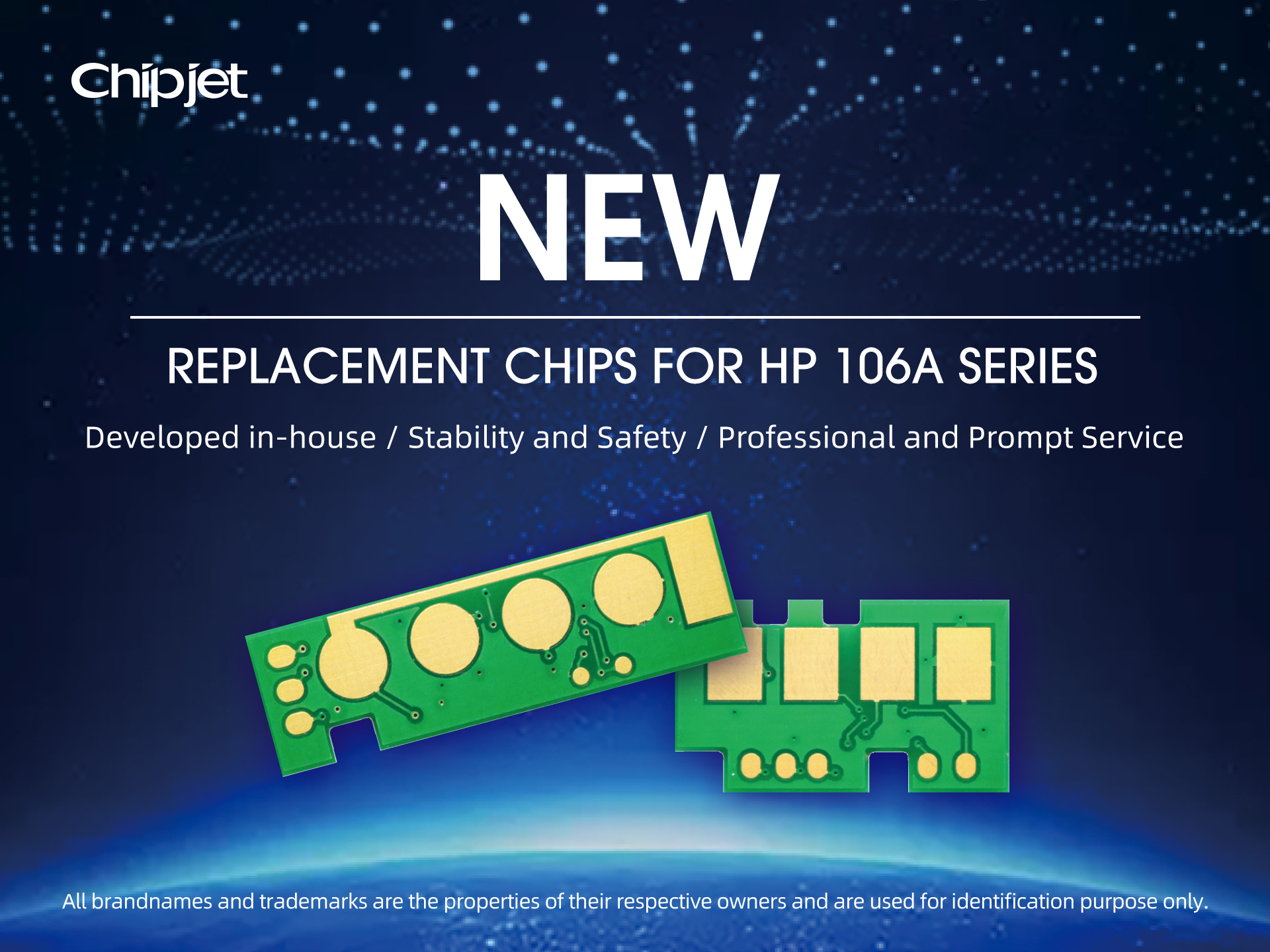 New Arrivals | Chipjet Rolls Out Replacement Chips for HP 106A/118A Series