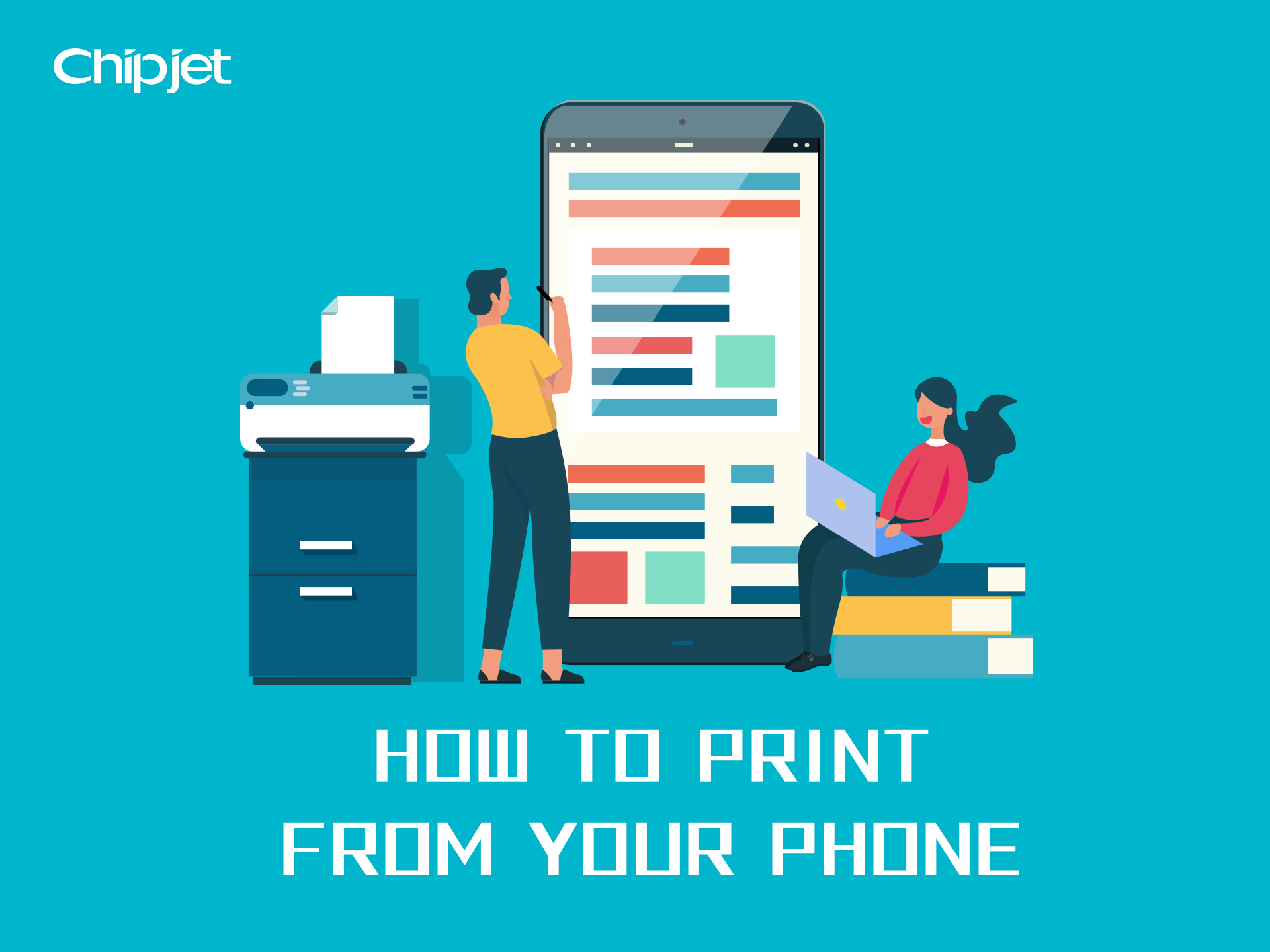 Chipjet Tips | How to Print from Your Phone